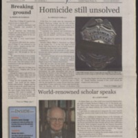 Marlin Chronicle, November 17, 2006, vol. 28, no. 4