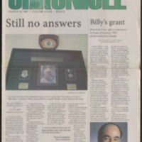 Marlin Chronicle, March 16, 2007, vol. 28, no. 8