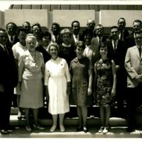 First Virginia Wesleyan College faculty and staff