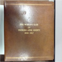 The Woman's Club of  Princess Anne County, 1956-1957