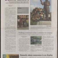 Marlin Chronicle, October 19, 2007, vol. 29, no. 3