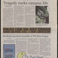 Marlin Chronicle, October 27, 2006, vol. 28, no. 3
