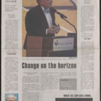 Marlin Chronicle, September 14, 2007, vol. 29, no. 1