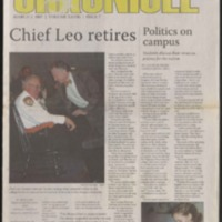Marlin Chronicle, March  2, 2007, vol. 28, no. 7